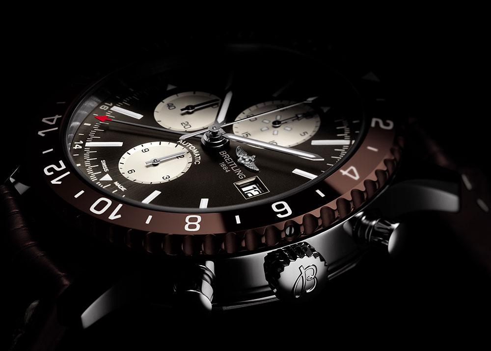 Breitling Chronoliner Uhren bei Juwelier Heller in Klagenfurt