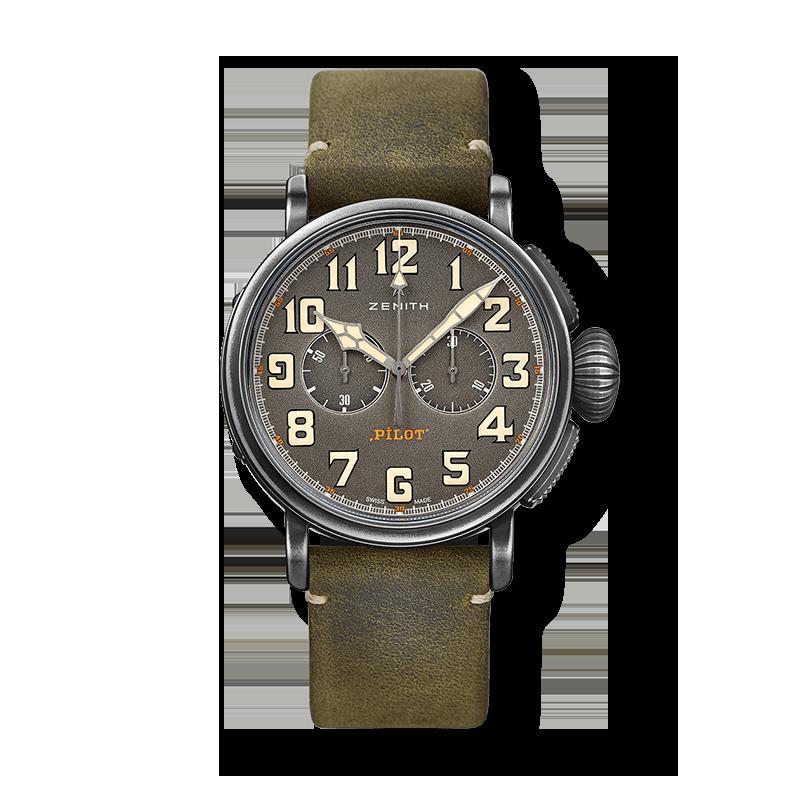 Zenith Pilot Uhren bei Juwelier Heller in Klagenfurt am Wörthersee